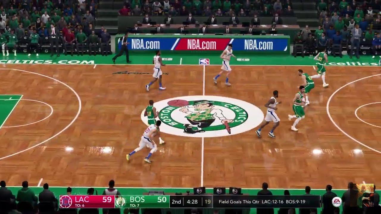 NBA LIVE 19 Clippers vs Celtics LIVE STREAM - YouTube