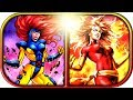 EVOLUTION of JEAN GREY - Dark PHOENIX in Cartoons (1966-2012) X-Men Dark Phoenix 2019 movie scene