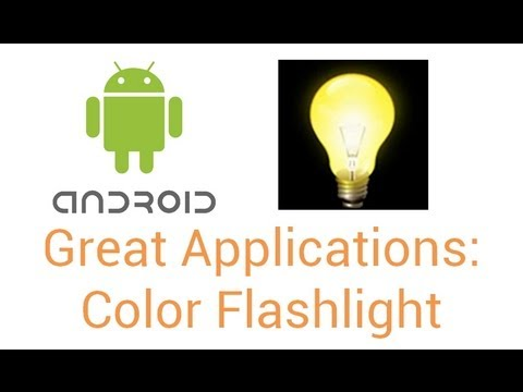 Great Android Apps: Color Flashlight