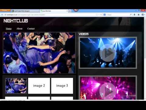 Free Website Template - NightClub