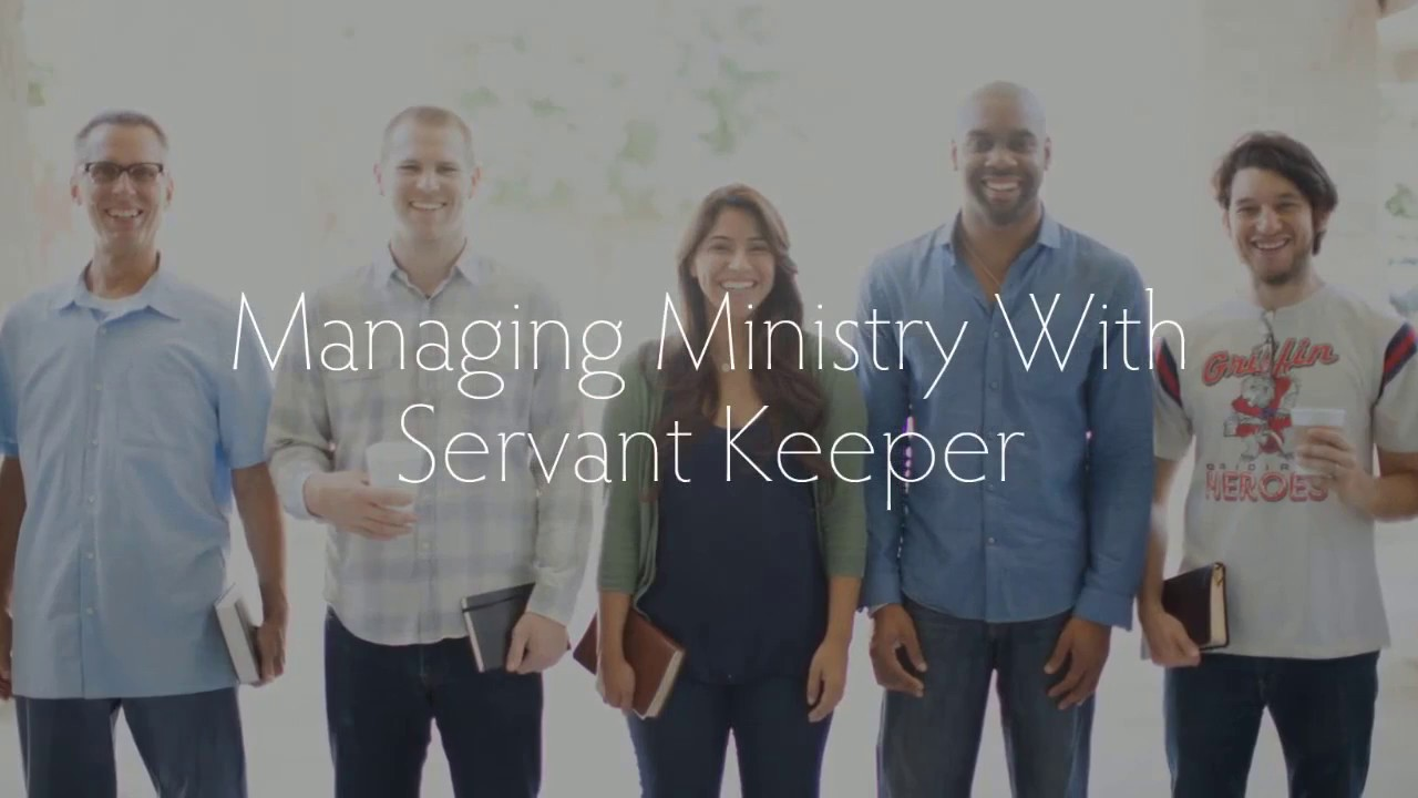 Servant Keeper 8 - manage and grow your ministry! - YouTube