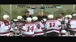 Highlights From UMass Hockey's 3-2 Overtime Win Against Vermont At Frozen Fenway