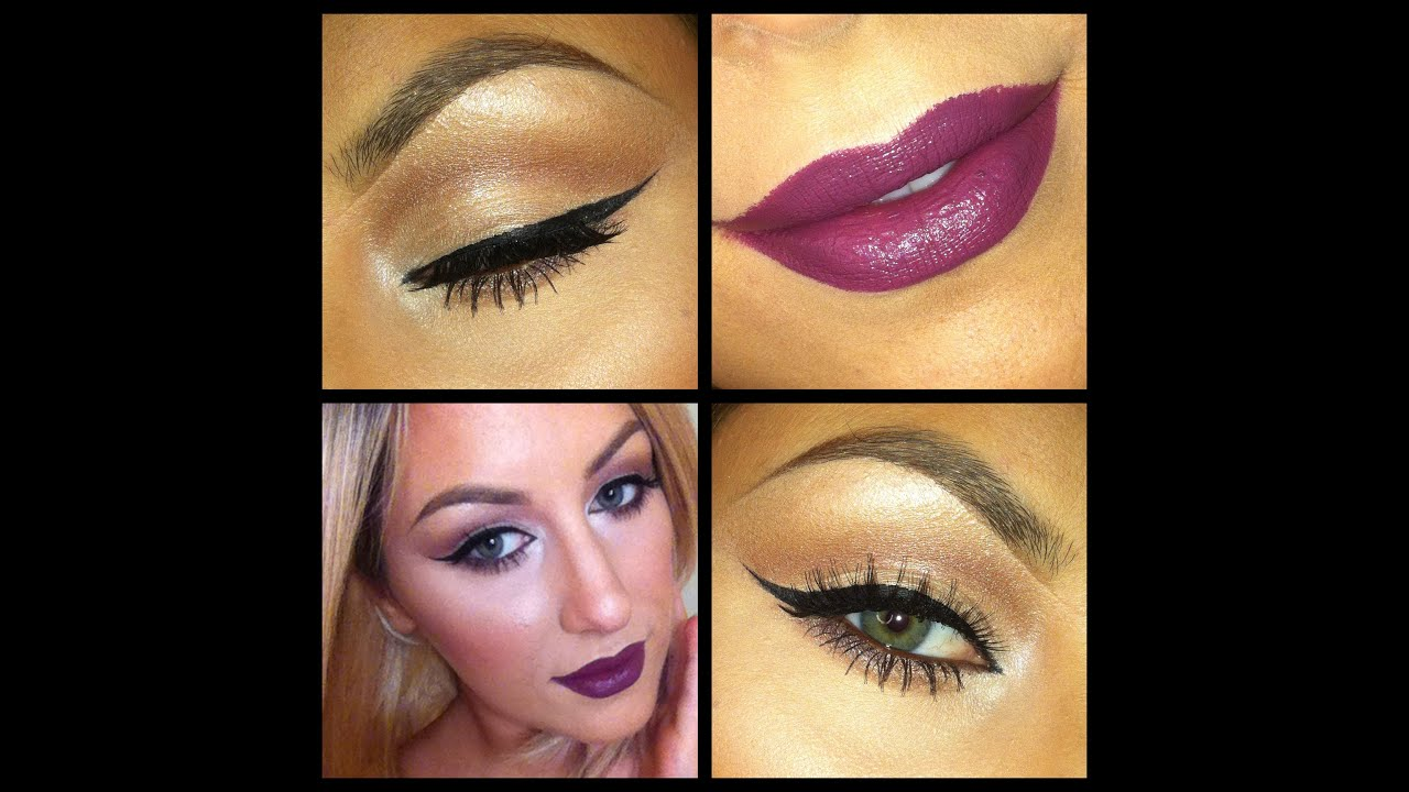 Plum Lips- Fall Makeup Tutorial! - YouTube