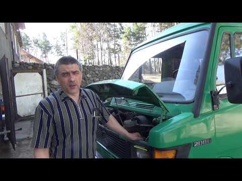 """Подтяжка рулевого редуктора на Мерседес 208 """"Кузнечик"""""""