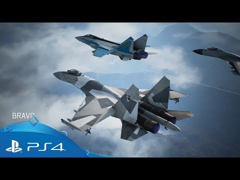 Ace Combat 7 | Multiplayer Trailer | PS4