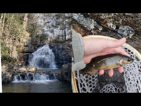 Fishing The Poconos - Waterfalls And Wild Trout