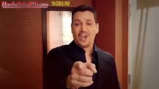 Victor Manuelle promo clip for MamboSalsaNYC.com
