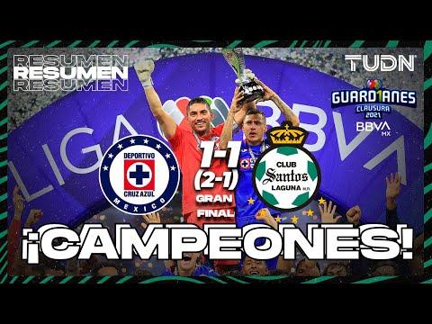 Resumen y goles | Cruz Azul 1(2)-(1)1 Santos | Torneo Guard1anes 2021 BBVA MX Final vuelta | TUDN