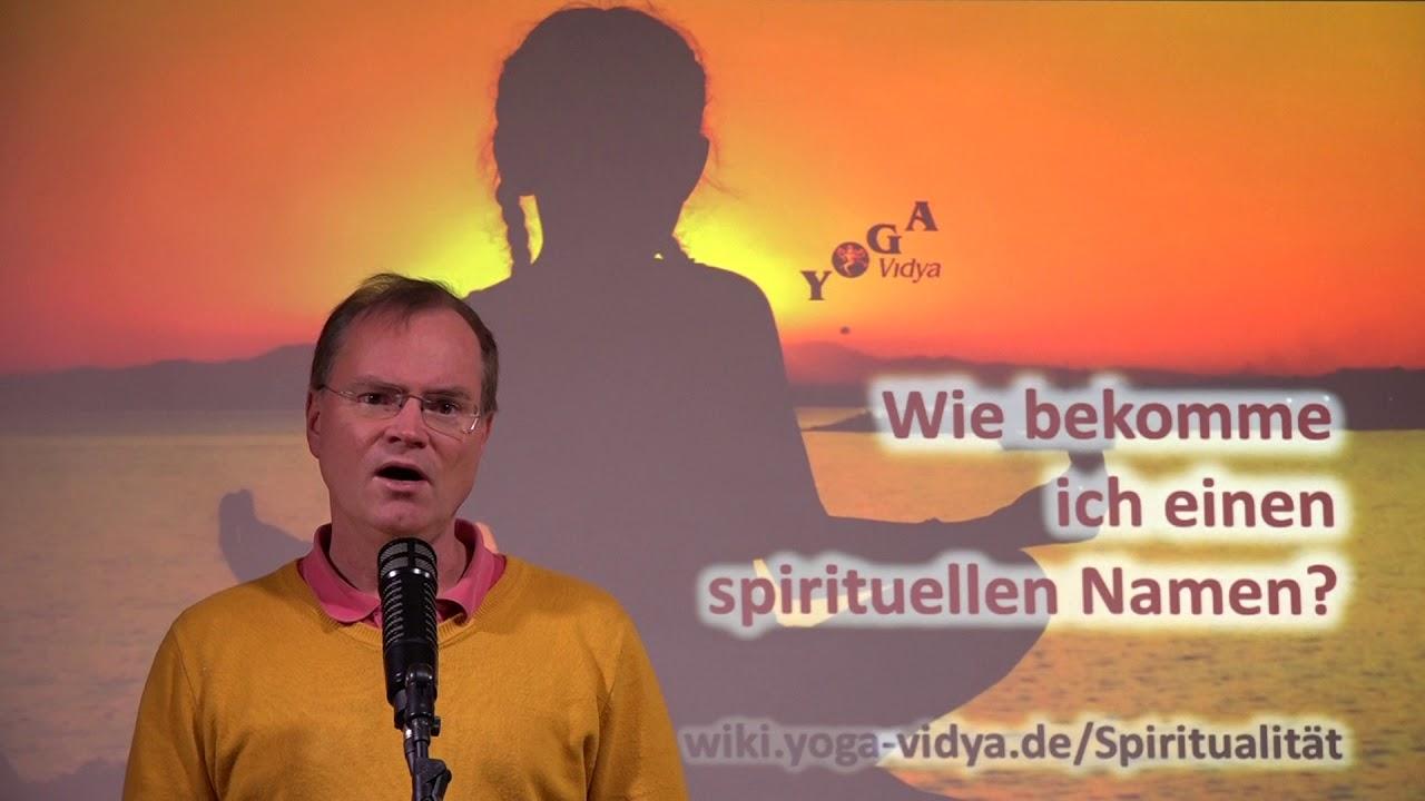 Wie bekomme ich einen spirituellen Namen - YouTube