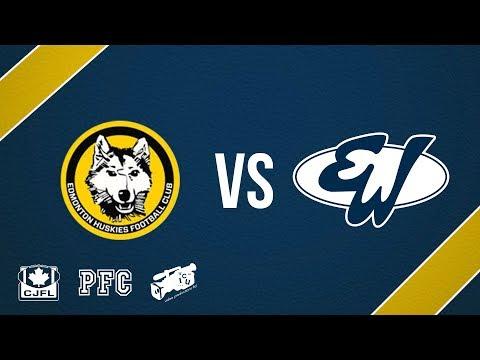 Edmonton Huskies at Edmonton Wildcats - Sep. 16, 2017 (PFC FOOTBALL ACTION)