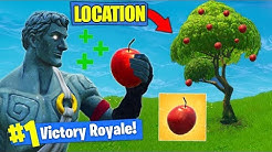 *NEW* APPLE LOCATION & GAMEPLAY In Fortnite Battle Royale!