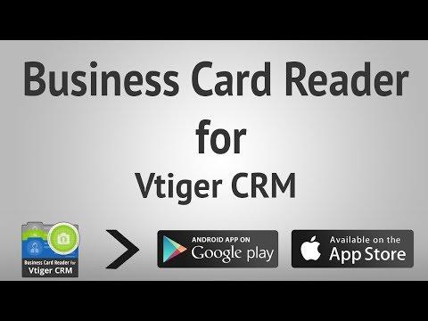 Business Card Reader For Vtiger CRM