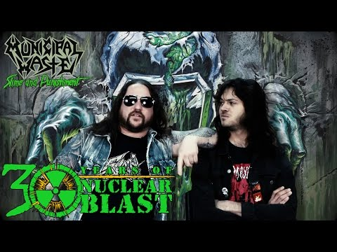 MUNICIPAL WASTE - New Member: Nick Poulos on Guitar (OFFICIAL INTERVIEW)