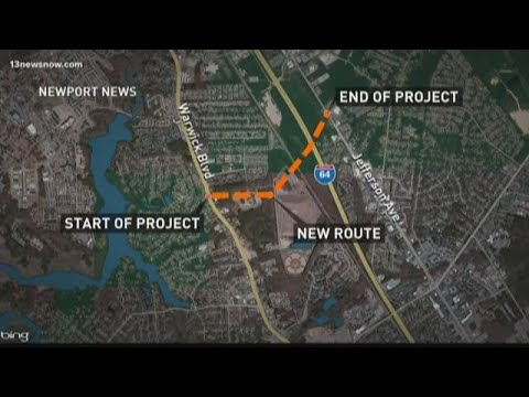 New Project Expected To Ease Traffic In City Center In Newport News