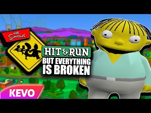 Thumbnail: Simpsons Hit And Run but everything is broken