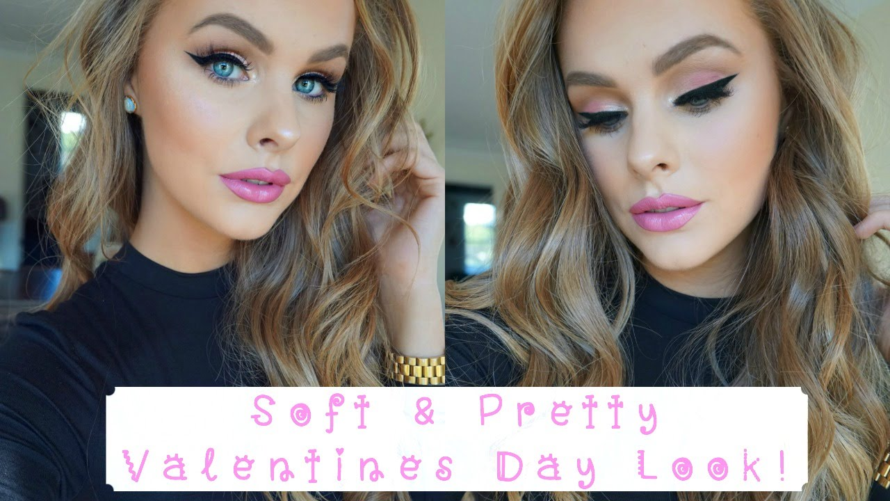 Soft Pretty Valentine S Day Look Youtube