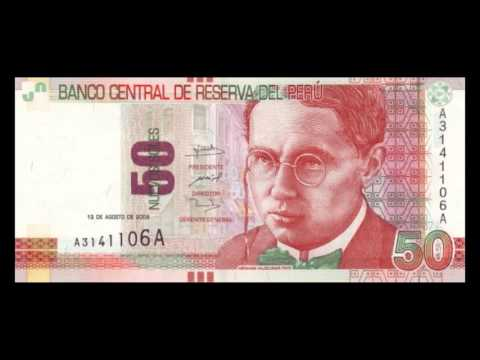 All Peruvian Nuevo Sol Banknotes - 2009 to 2013 Issues