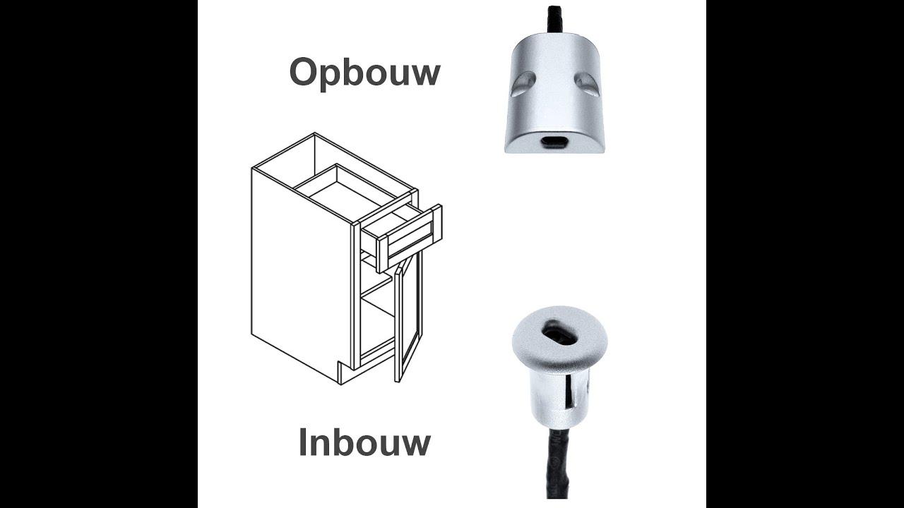 Kast deur lade schakelaar voor led verlichting v led for Bewegingssensor voor led verlichting