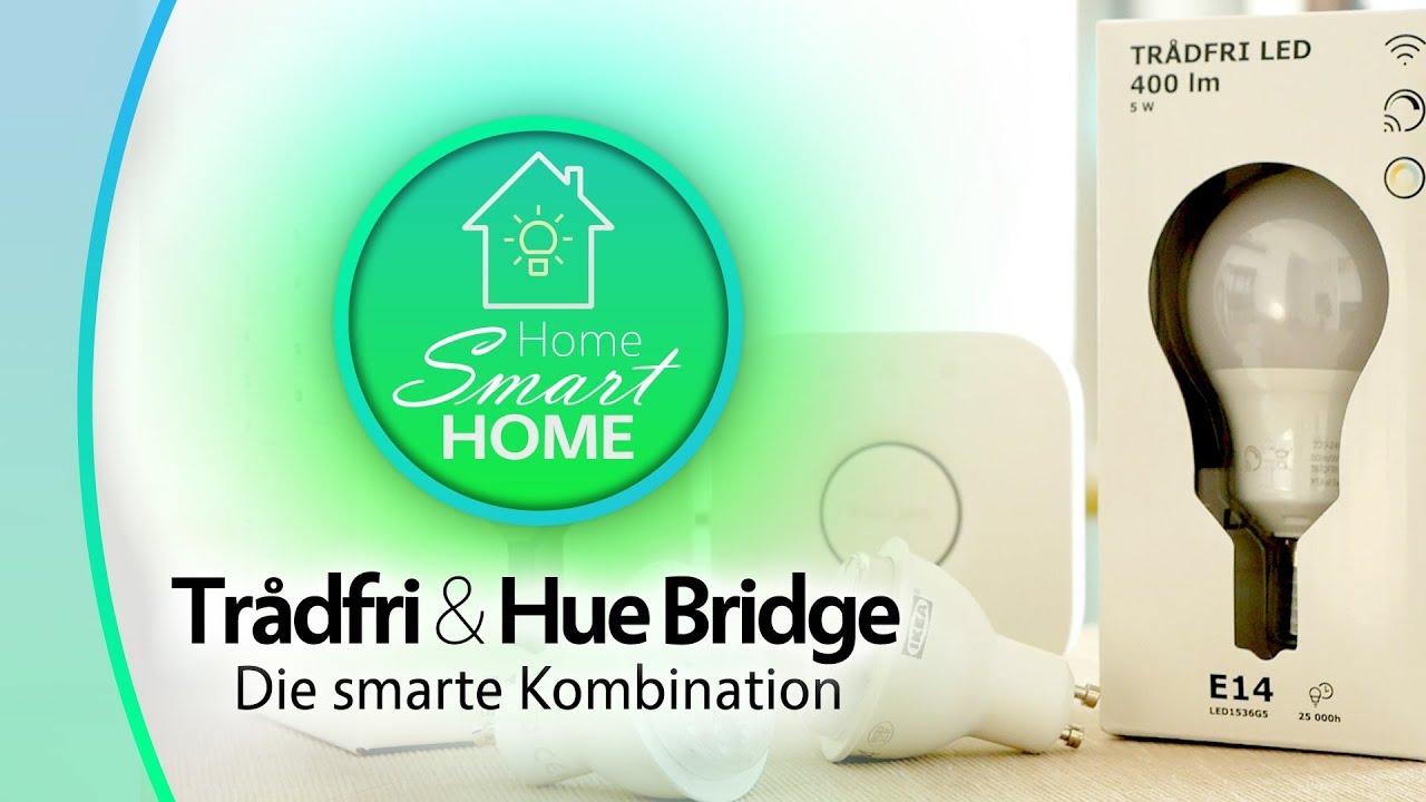 Hue Lampen E14 : Ikea tradfri hue bridge die smarte kombination youtube