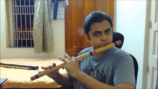 Download Khachar Bhitor Ochin Pakhi - Flute (Bansuri) MP3 song and Music Video