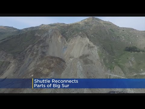 Shuttle Reconnects Part Of Big Sur