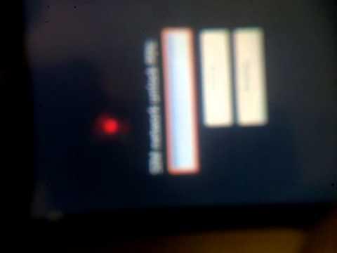 HTC G1 error code