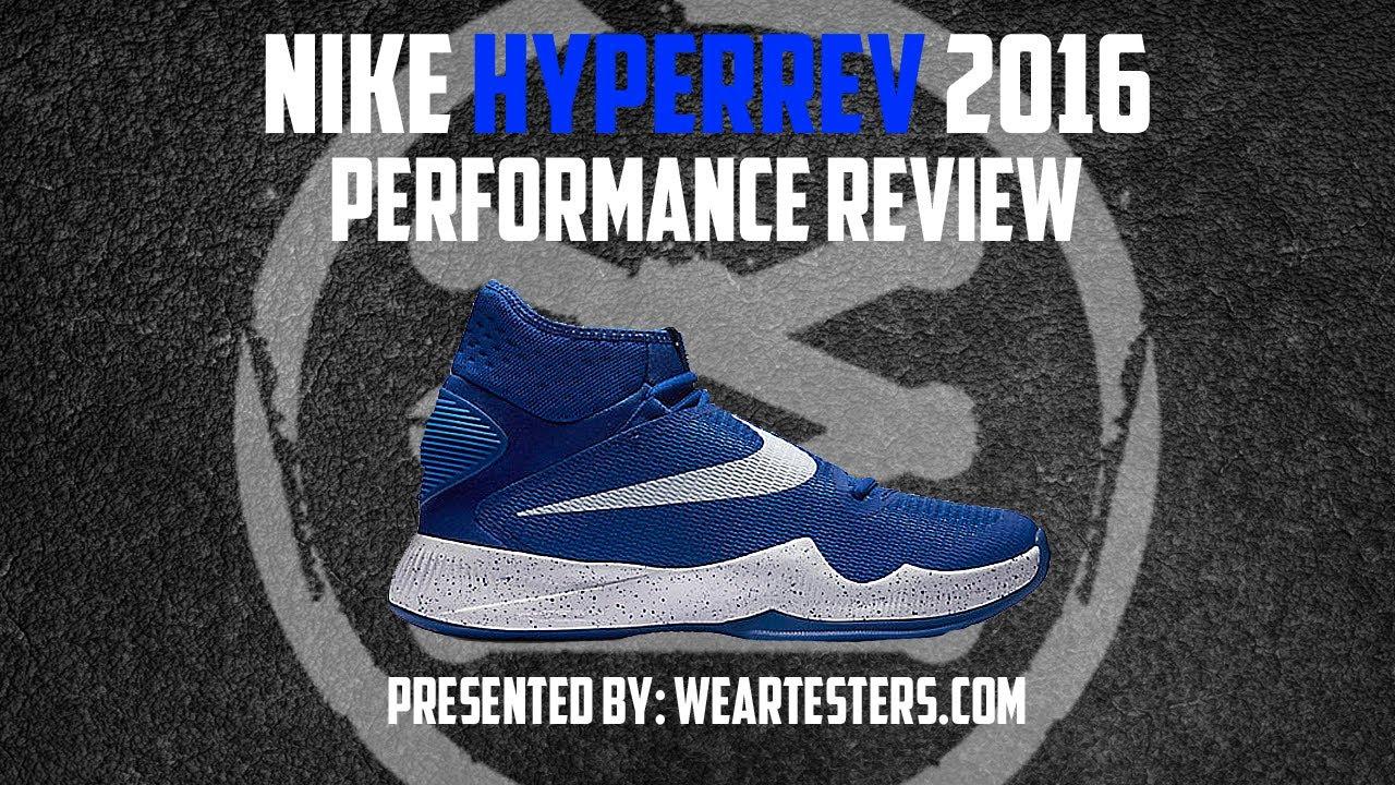 scarpe da basket della nike hyperrev 2016 valutazione su youtube