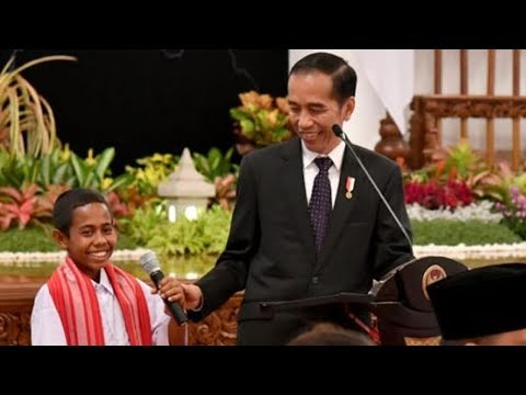 Image of Joni Ungkap Kronologi Panjat Tiang Bendera kepada Jokowi, Awalnya Ia Tak Ikut Upacara