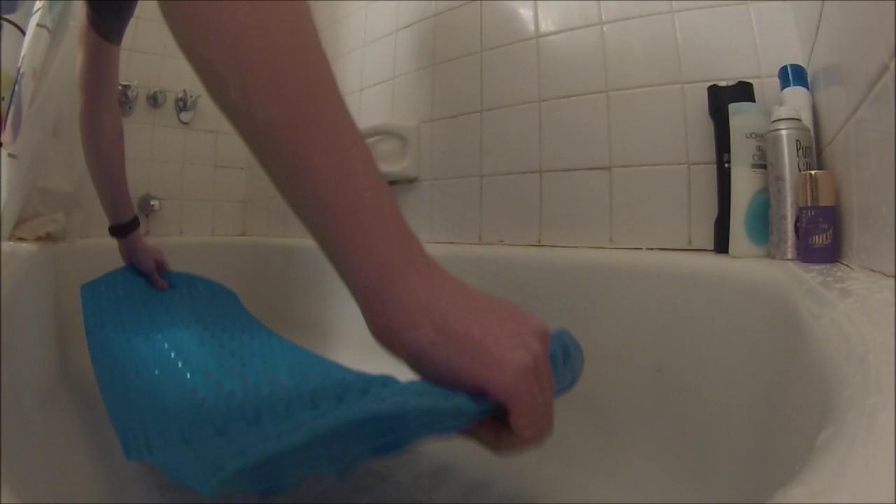 Extra long Anti Slip Bath & Shower Mat Unboxing & Demo #DreamsABM ...