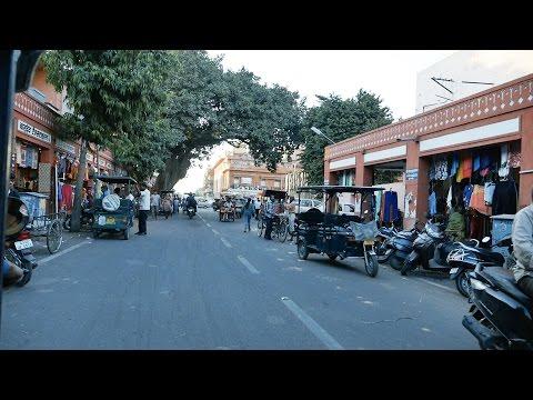 Jaipur Market Bapu Bazar, MI Road,Jaipur Shopping,Rajasthan.बापू बाजार,जयपुर.Jaipur bazaar