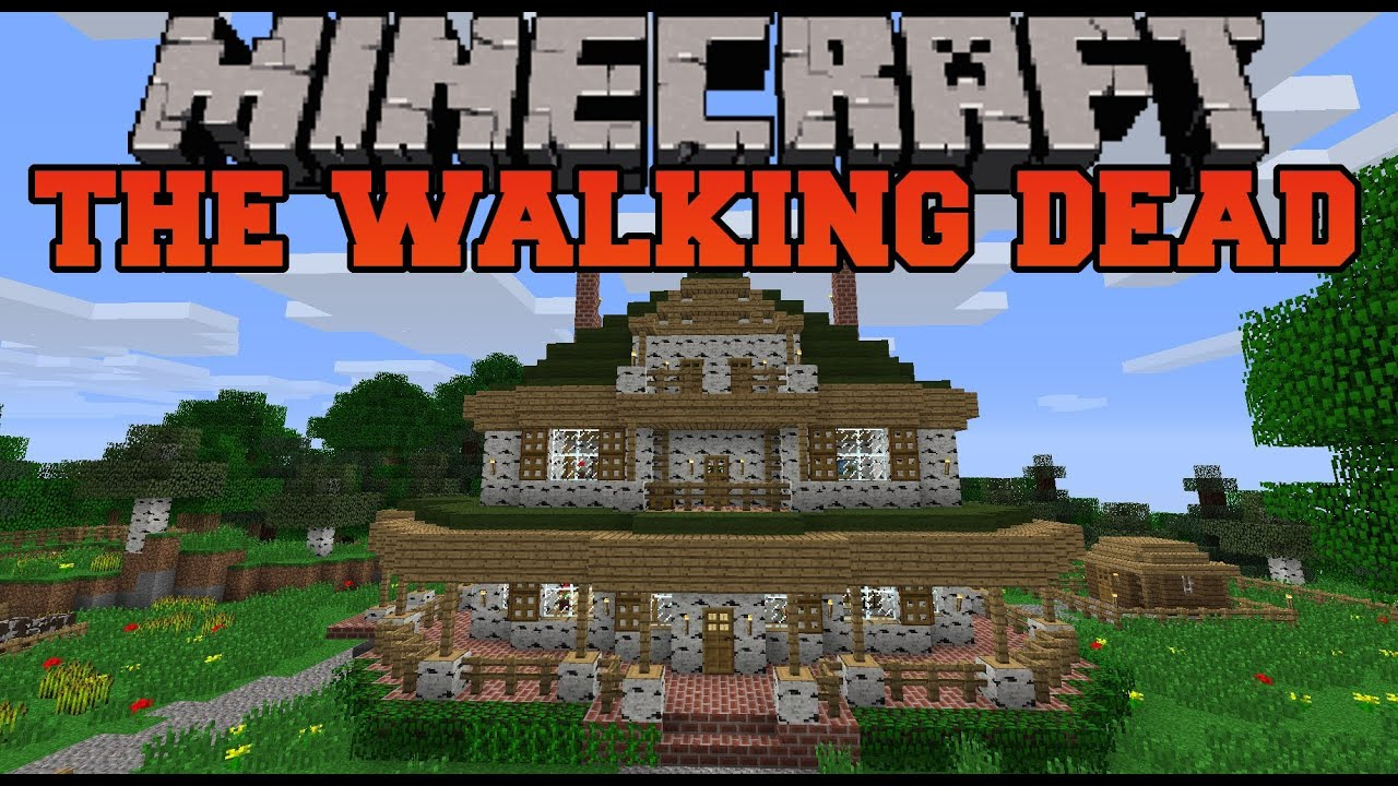 Minecraft the walking dead map lets play youtube sciox Gallery