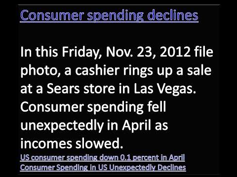 Business News: Consumer spendingdeclines