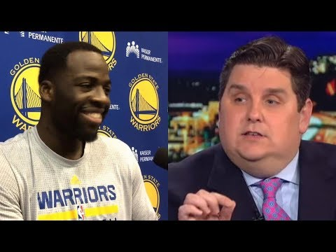 "Draymond Green Calls ESPN Commentator Brian Windhorst ""No Neck"" Just for Saying His Name"