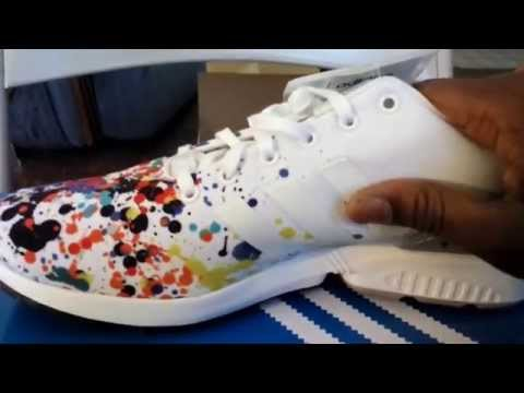 ADIDAS ZX FLUX 'Paint Splatter'