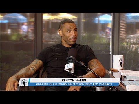 Former NBA Star Kenyon Martin Joins The Rich Eisen Show In-Studio | Full Interview | 8/9/17