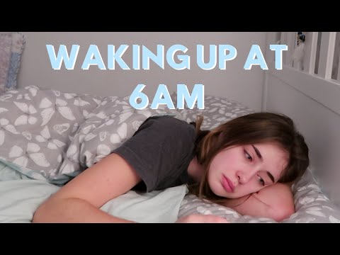 WAKING UP AT 6AM EVERYDAY.. I Tried To Fix My Sleeping Pattern In 1 Week!