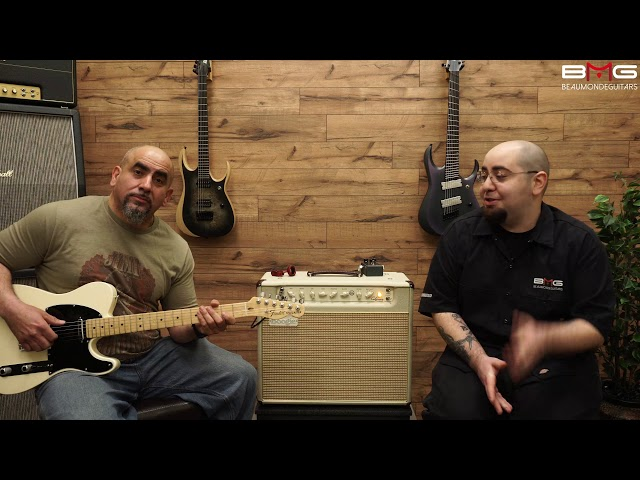 Mesa Boogie California Tweed 1x12 Combo Amp Demo