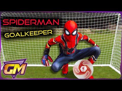 SPIDERMAN BEAST GOALKEEPER VS KIDS (Soccer Penalty Challenge)