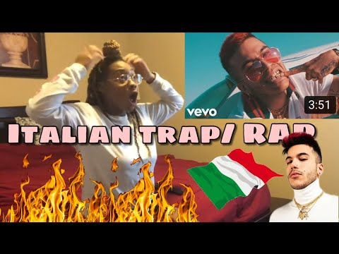 AMERICAN FIRST REACTION TO ITALIAN RAP MUSIC (SFERA EBBASTA, CAPO PLAZA, DARK POLO GANG)
