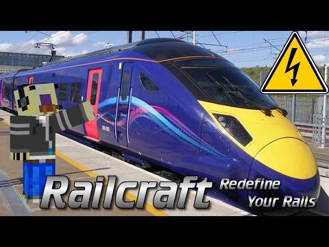 Railcraft Tutorial | Electric locomotive