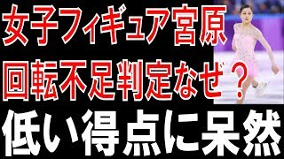 女子フィギュア宮原の回転不足判定のなぜ? 平昌五輪のフィギュアスケー...