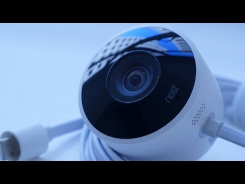 Nest outdoor camera first look