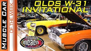 Oldsmobile W31 Display 2018 Muscle Car And Corvette Nationals Muscle Car Of The Week 282 V8TV