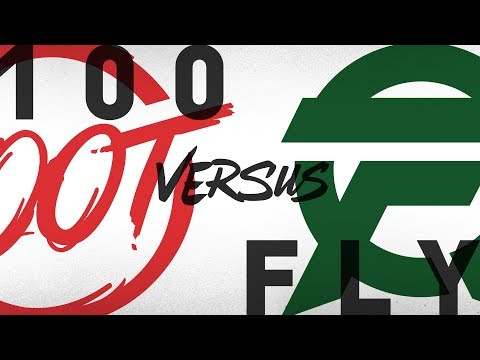 100 vs. FLY | Quarterfinals Game 1 | NA LCS Summer Playoffs | 100 Thieves vs. FlyQuest (2018)