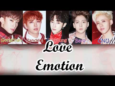 B1A4 (비원에이포) - Love Emotion [LYRICS]