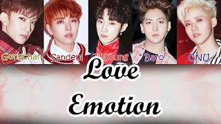B1A4 (?????) - Love Emotion [LYRICS] MP3