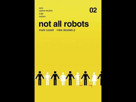 Not All Robots #2 Artists Writers & Artisans Inc Upshot #QuickFlip Comic Book Review #shorts
