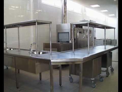 Lavado de vajilla y menaje ingehostel youtube for Material para cocinas industriales