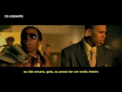 Chris Brown feat Lil Wayne  Gimme That LegendadoTradução Clipe Oficial