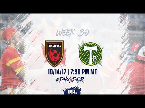USL LIVE - Phoenix Rising FC vs Portland Timbers 2 10/14/17